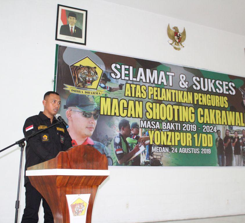 Pelantikan Pengurus Macan Shooting Cakrawala