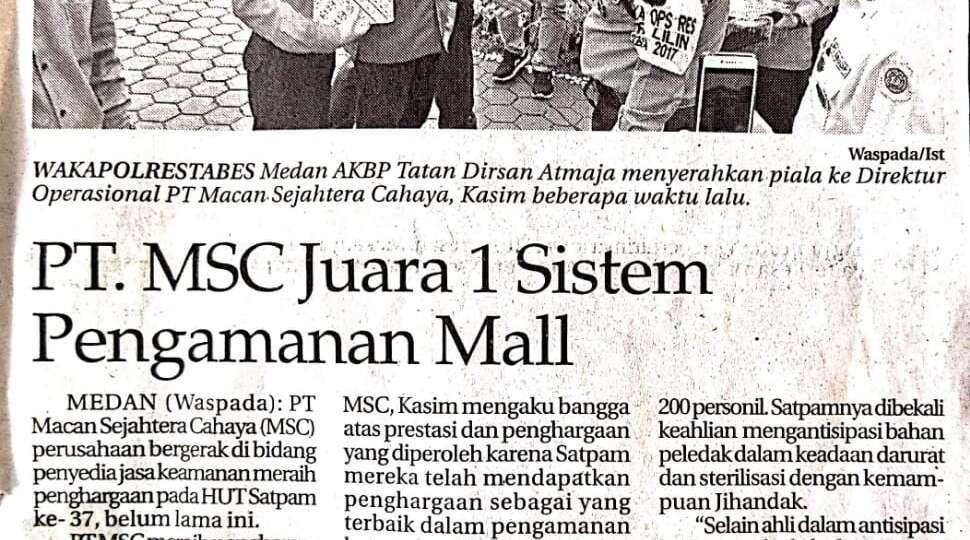 Juara 1 Sistem Pengamanan Mall