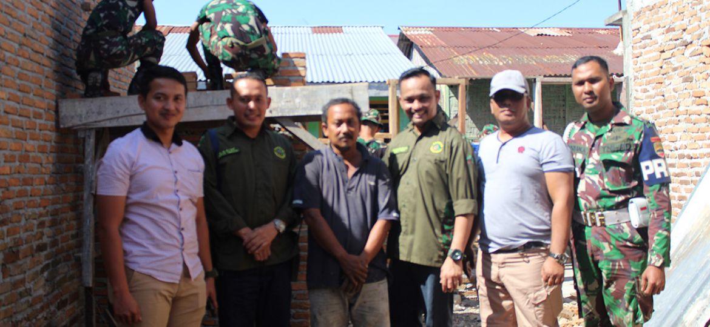 Program Bedah Rumah PT Macan Sejahtera Cahaya
