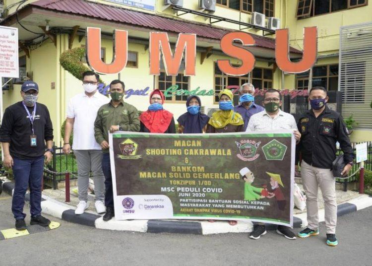 Bankom MSC Salurkan Paket Sembako