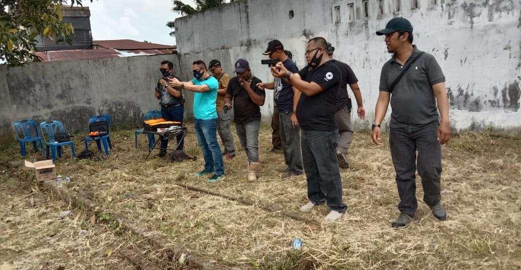 Latihan Bersama Macan Shooting Cakrawala di Lapangan TEMBAK HIPAKAD, Sunggal