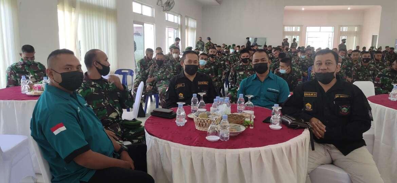 Acara Syukuran HUT Ke 71 Batalyon Zeni Tempur 1/DD