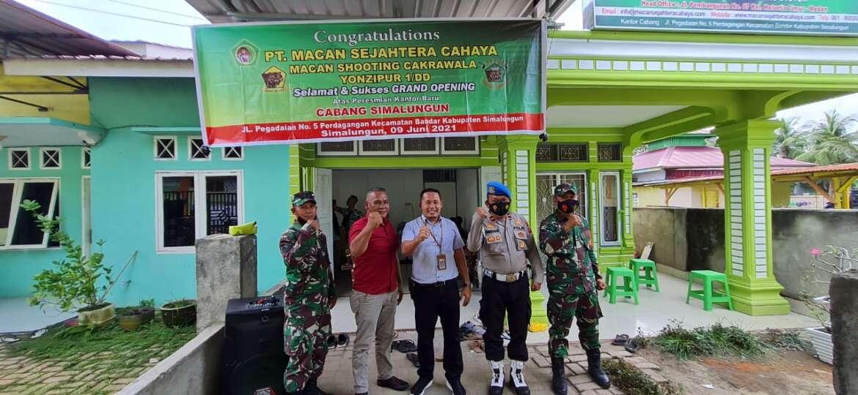 Peresmian Kantor Cabang PT Macan Sejahtera Cahaya di Simalungun