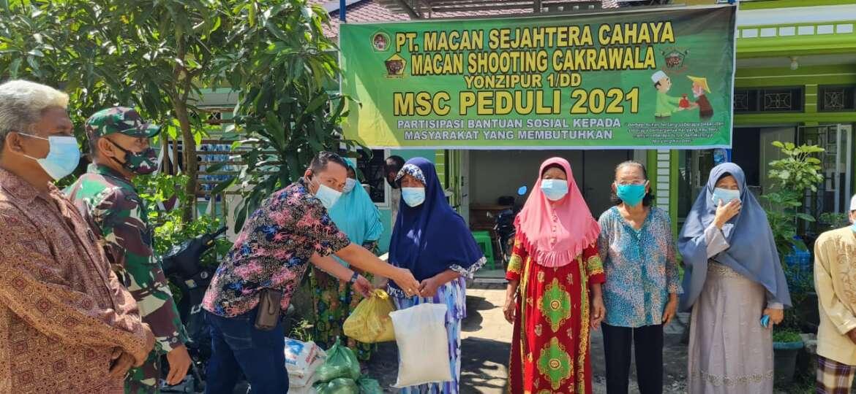 Bantuan Sosial PT Macan Sejahtera Cahaya 2021