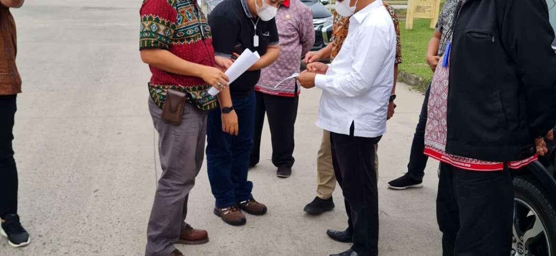 Kunjungan Wakil Bupati Simalungun