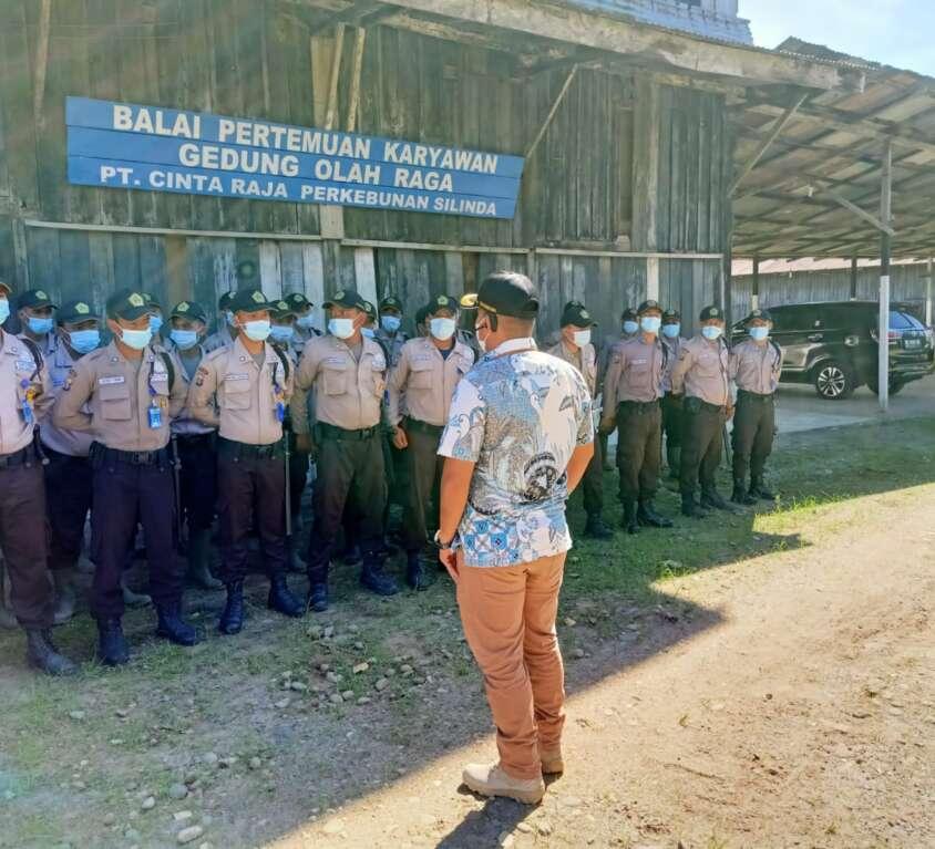 Kunjungan Kerja di PT Cinta Raja Perkebunan Silinda