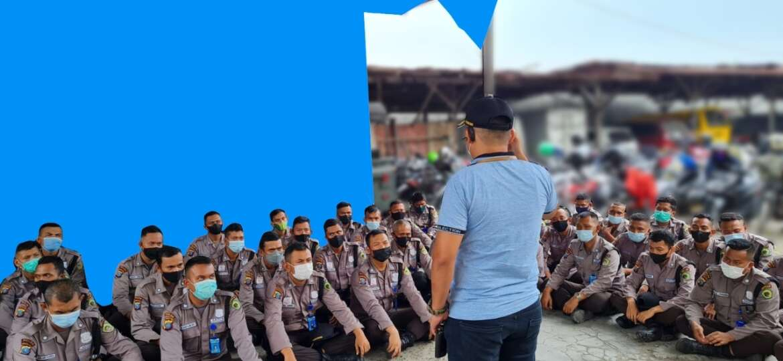 Apel Gabungan Petugas Security