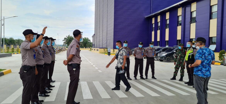 Serah Terima Satpam PT Aice Sumatera Industry