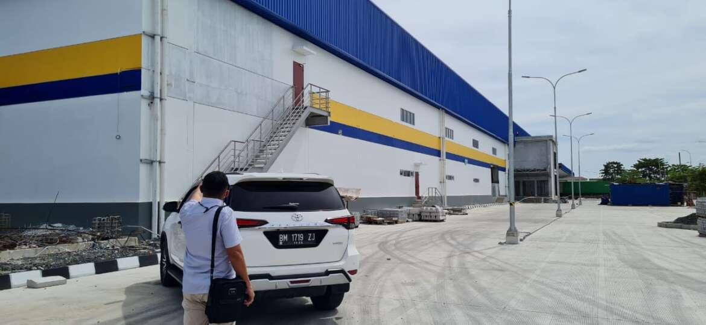 Kunjungan PT Macan Sejahtera Cahaya di Pabrik Sari Roti Pekan Baru